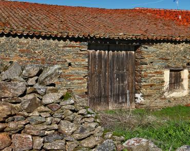 Casa de piedra autoctona